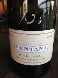 Ventana Pinot Noir 2011