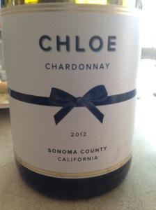 Chloe Chardonnay 2012