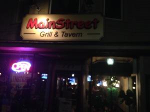 MI Main Stree Grill & Tavern facade