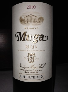 Muga Rioja Reserva 2010