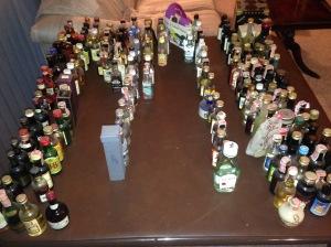 Sorting Miniature Bottles