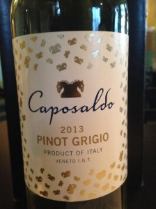 Caposaldo Pinot Grigio Veneto IGT 2013