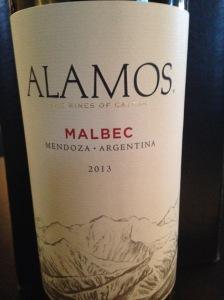 Catena Alamos Malbec 2013