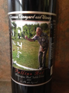 Ciccone Pallino Red 2003 autographed