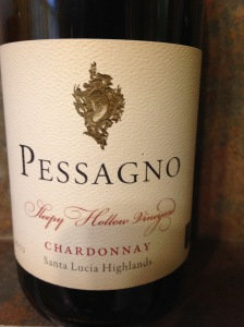 Pessagno Chardonnay Sleepy Hollow 2010