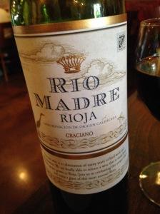 Rio Madre Rioja DOCa 2013