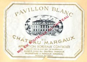 Pavillon Blanc du Chateau Margaux 1970