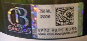 Cru Bourgeois Label