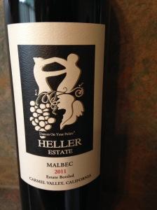 Heller Estate Malbec 2011