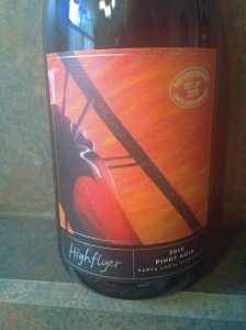 High Flyer Doctor's Pinot Noir 2010