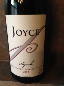 Joyce Syrah Tondre Grapefield 2013