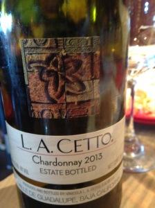 L A Cetto Chardonnay 2013
