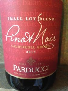 Parducci Small Lot Blend Pinot Noir 2013