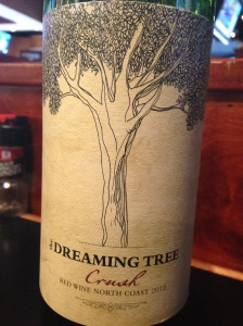 The Dreaming Tree Crush Red Wine 2012