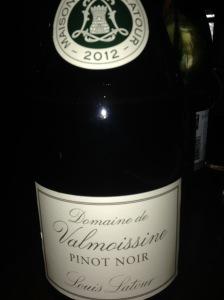 Domaine Valmoissine Pinot Noir IGP Louis Latour 2012