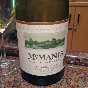 McManis Family Chardonnay 2013