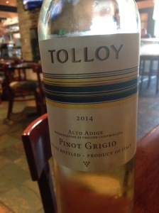 Tolloy Pinot Grigio 2014
