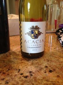 Acacia Chardonnay Carneros 2012