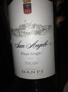 Banfi San Angelo Pinot Grigio Toscana IGT 2012