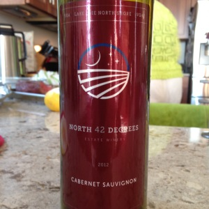 North 42 Degrees Cabernet Sauvignon 2012