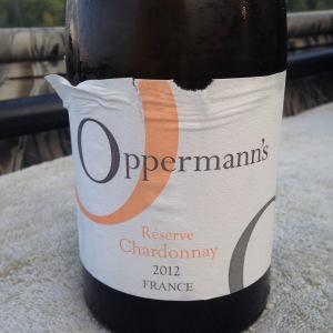 Oppermann's Chardonnay 2012