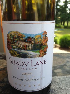 Shady Lane Cellars Franc n Franc 2012