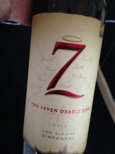 The Seven Deadly Zins 2012