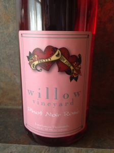 Willow Pinot Noir Rose 2013