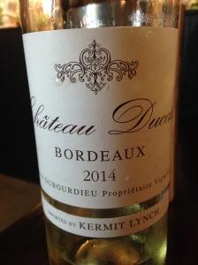 Chateau Ducasse Bordeaux Blanc 2014