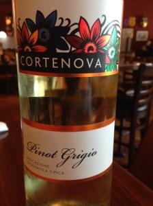 Cortenova Pinot Grigio della IGT Venezie 2014
