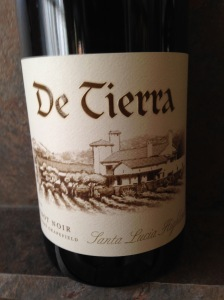 DeTierra Tondre Pinot Noir 2012