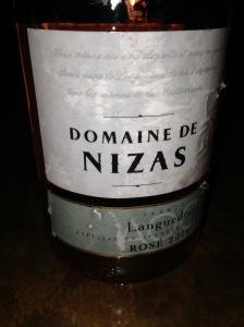 Domaine de Nizas Rose Languedoc 2014