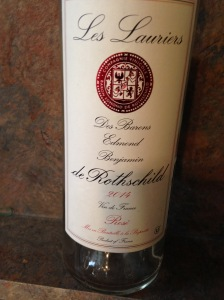 Les Lauriers de Rothschild Rose 2014