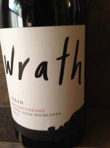 Wrath Doctor's Syrah 2012