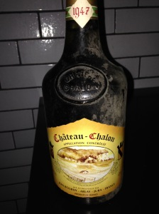 Bourdy Chateau Chalon 1947