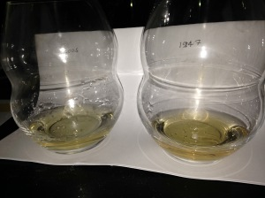Comparison of Chateau Chalon 2005 and 1947