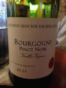 Maison Roche de Bellene Bourgogne 2011