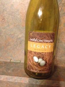 Sandhill Crane Vineyards Legacy 2013