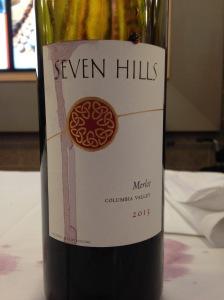 Seven Hills Merlot 2013