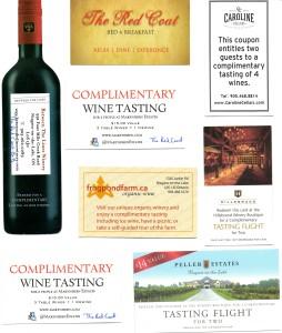 ON NOTL Wine Tasting Cards