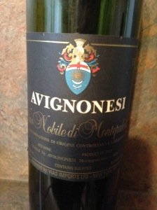 Avignonesi Vino Nobile di Montepulciano 1992