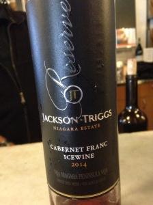 Jackson-Triggs Cabernet Franc Icewine 2014