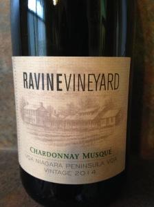 Ravine Vineyard Chardonnay Musque 2014