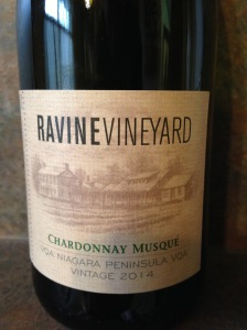 Ravine Vineyard Chardonnay Musque 2014