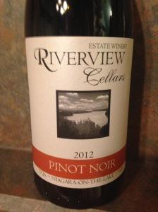 Riverview Cellars Pinot Noir 2012