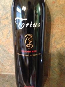 Trius Grand Red 2012