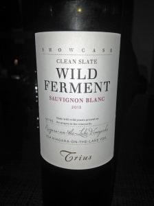 Trius Showcase Clean Slate Wild Ferment Sauvignon Blanc 2013