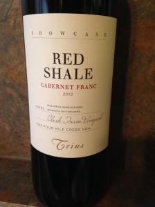 Trius Showcase Red Shale Cabernet Franc 2012