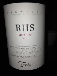 Trius Showcase RHS Merlot 2012