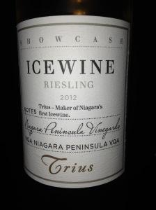 Trius Showcase Riesling Icewine 2012